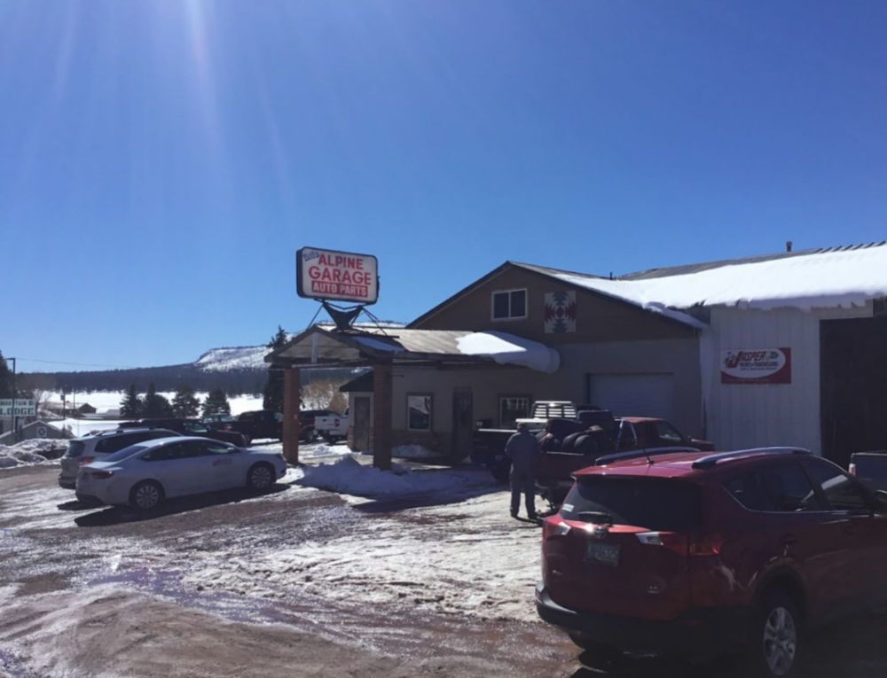 Bill's Alpine Garage: 42694 Hwy 180 E, Alpine, AZ