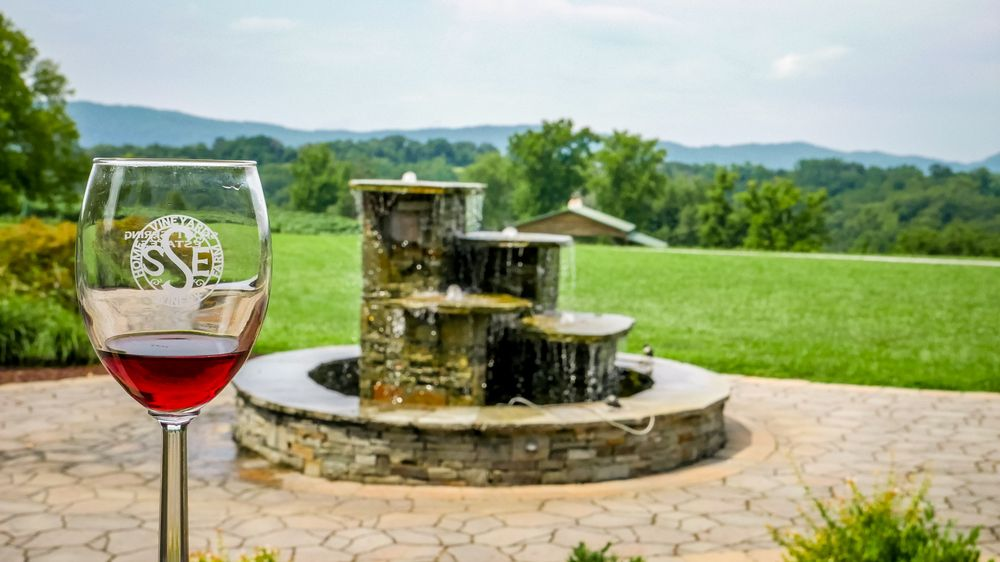 Social Spots from Spout Spring Estates Winery and Vineyard