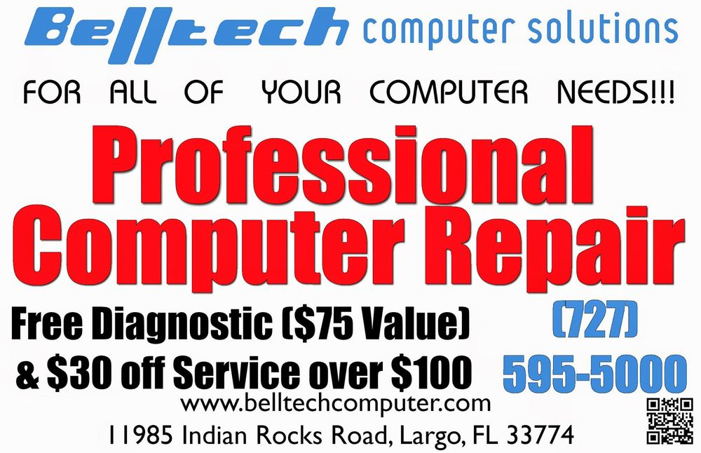 Belltech Computer Solutions: 11985 Indian Rocks Rd, Largo, FL