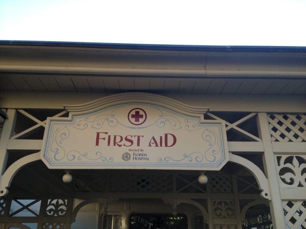 First Aid: Main St, Bay Lake, FL