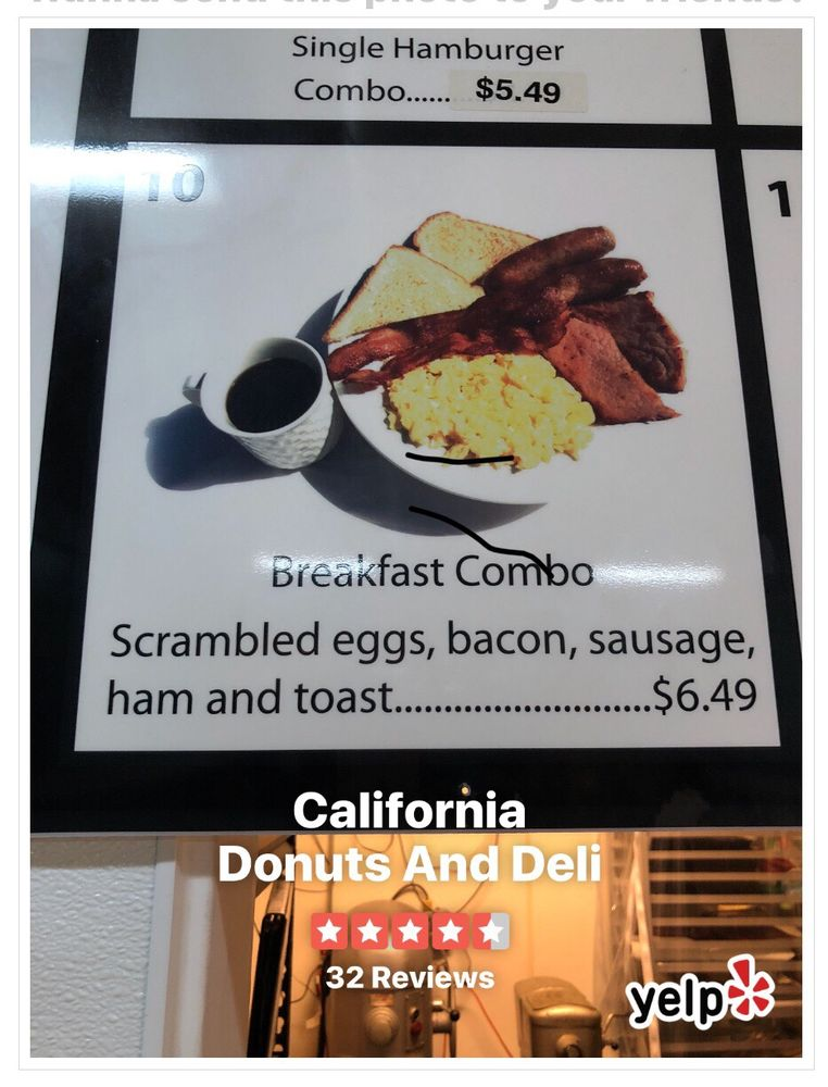 Social Spots from California Donuts And Deli