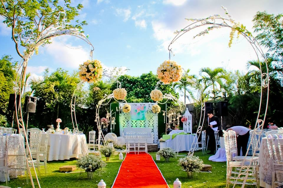 Garden Wedding in the Philippines