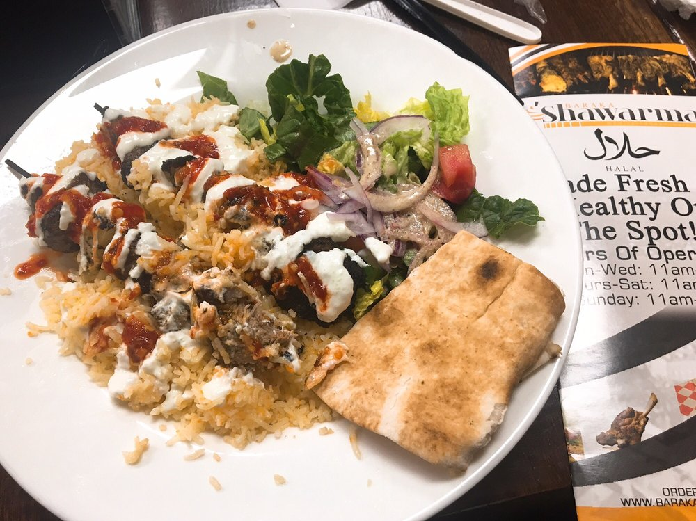 Baraka Shawarma: 68 Walton St NW, Atlanta, GA