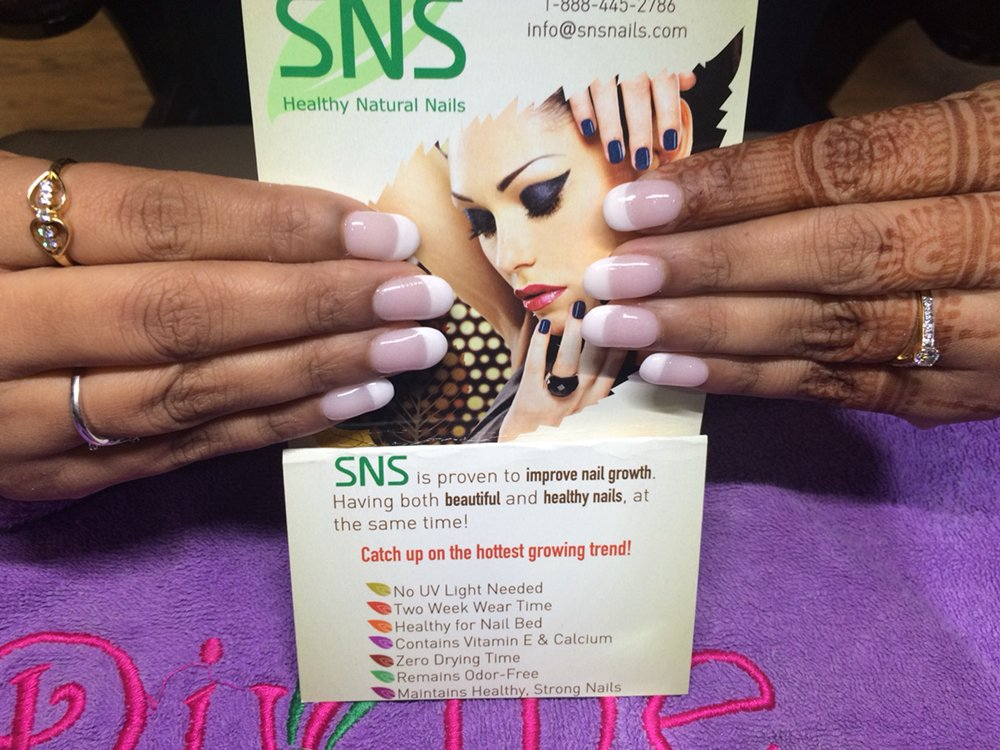 SNS french manicure - Yelp