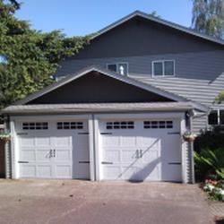 Photo Of Patricku0027s Garage Door   Vancouver, WA, United States. Double Garage  Door