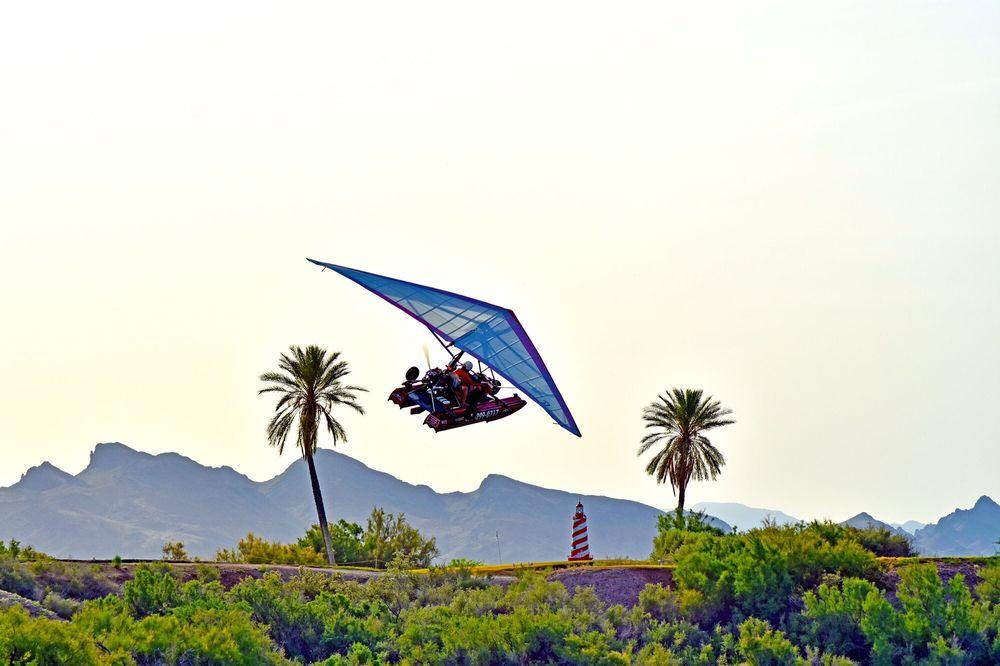 Hangin' Over Havasu: 5600 Hwy 95 N, Lake Havasu City, AZ