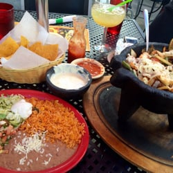 Photo Of Cancun Mexican Grill Bar Knoxville Tn United States Molcajete