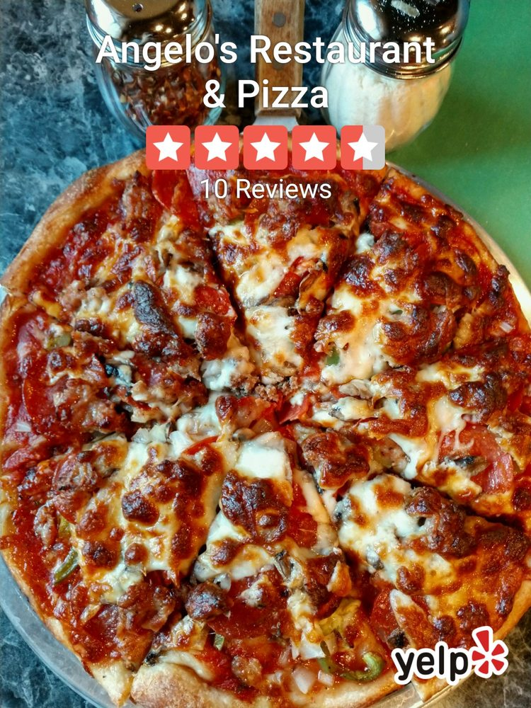 Angelo's Restaurant & Pizza: 400 E Dakota St, Spring Valley, IL