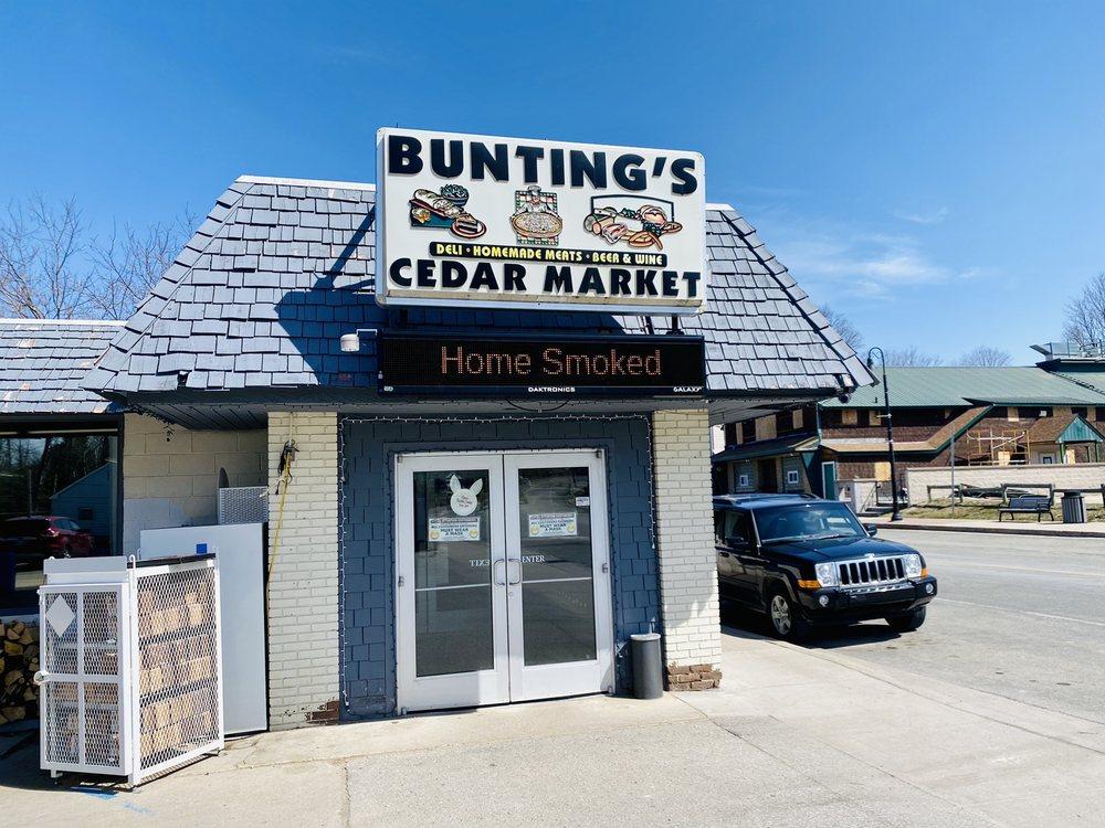 Buntings Cedar Market: 9054 S Cedar Rd, Cedar, MI