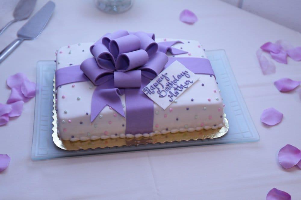 Moms birthday cake Yelp