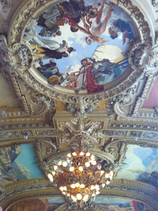 yes yes le train bleu has a nice ceiling yelp. Black Bedroom Furniture Sets. Home Design Ideas