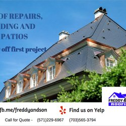 Photo Of Freddy And Son Roofing   Manassas, VA, United States.  Freddyandsonroofing.