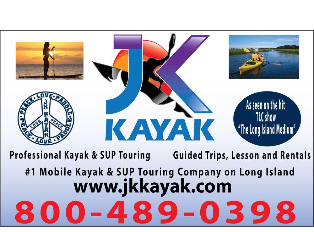 JK KAYAK & SUP: 130 Harbor Rd, Cold Spring Harbor, NY