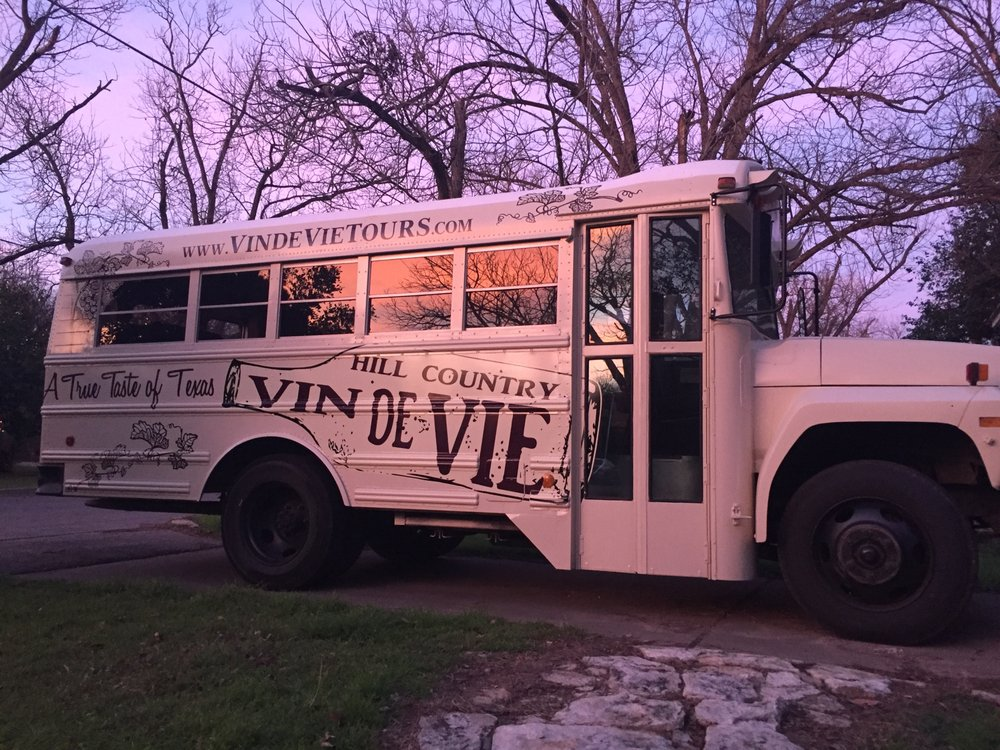 Texas Wine Country Bus Tours