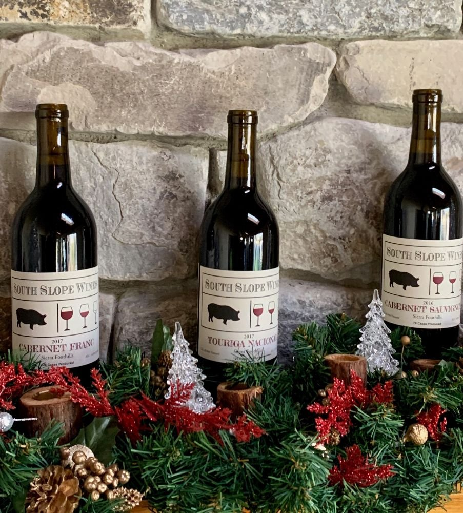 South Slope Wines: 22355 Lawrence Rd, Fiddletown, CA
