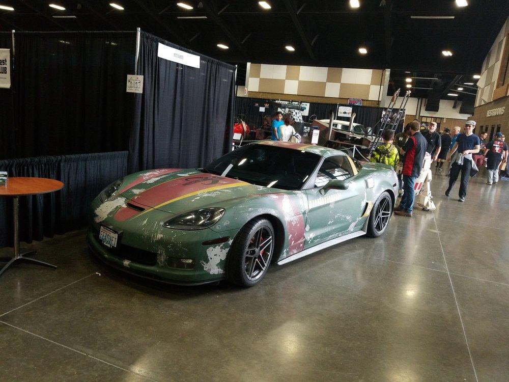 Fetts Vette Yelp - Florida state fairgrounds car show