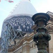 Le Panthéon - Paris, France. JR on Pantheon