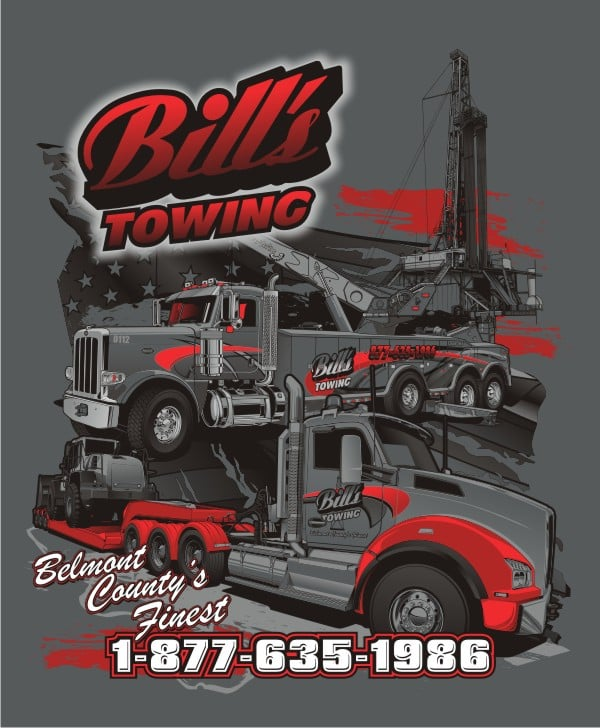 Bill's Towing & Recovery: 309 Hall St, Bridgeport, OH