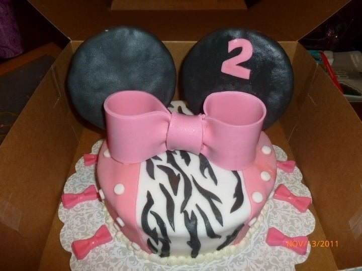 Minnie Mouse Cupcakes Yelp