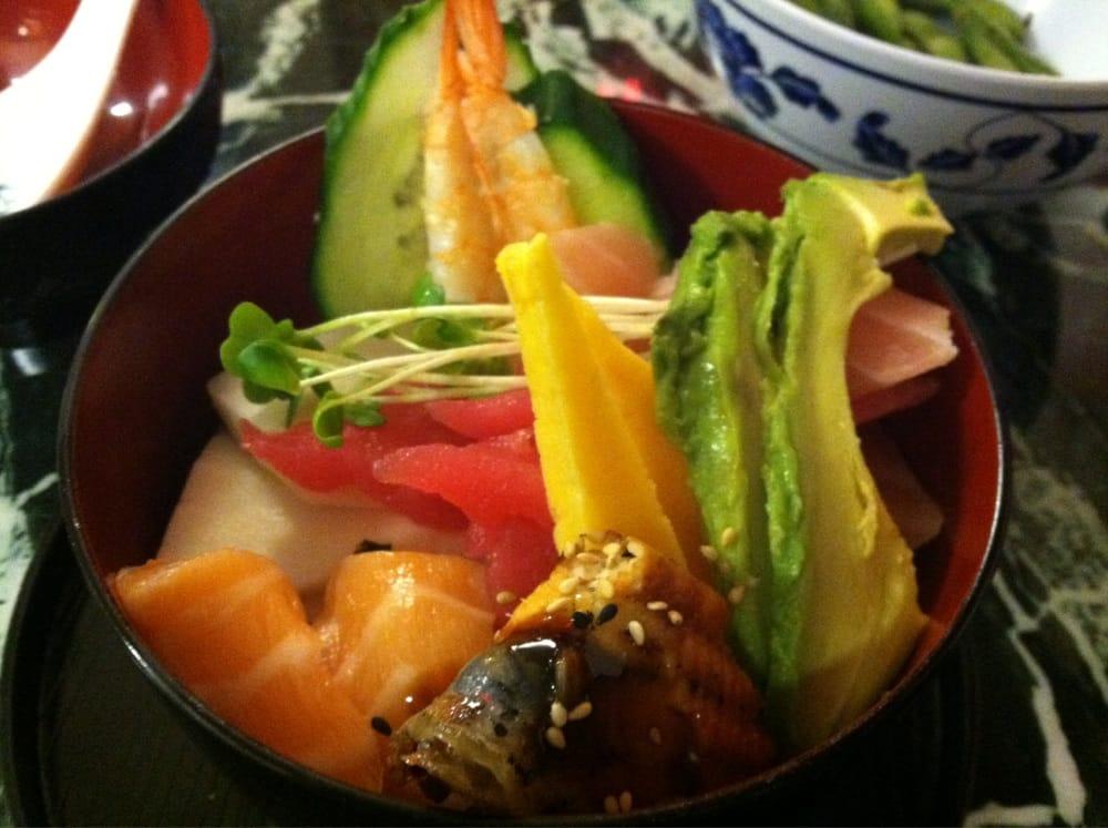 Chirashi yelp for Flying fish bar and grill
