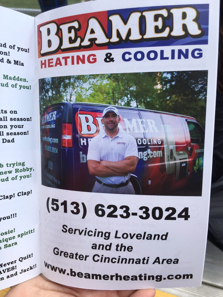 Beamer Heating & Cooling: 126 S 2nd St, Loveland, OH