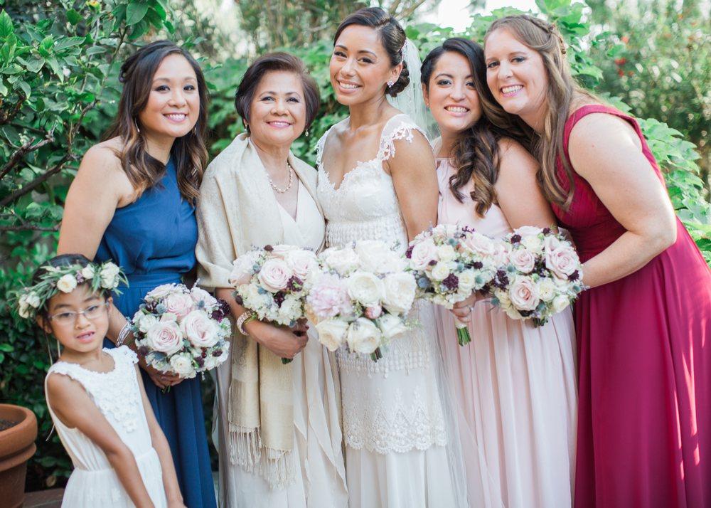 Rancho Bernardo Inn Wedding San Diego, CA 2018 Hair by