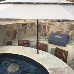 wood patio with pool. Photo Of Wood Duck Pool \u0026 Patio - San Antonio, TX, United States. With