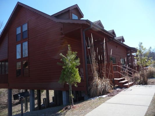 Mybransonvrbo case appartamenti per vacanze 109 grand for Piani di log cabin lodge