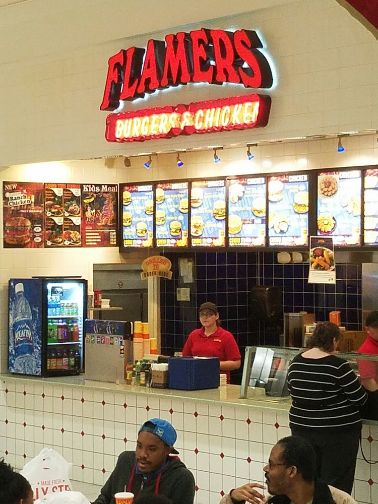 Flamers - American (New) - 200 Monroeville Mall, Monroeville, PA ...