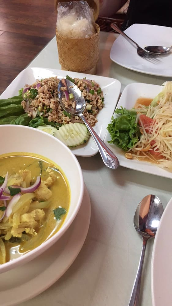 Thai Lily Cafe Houston Menu