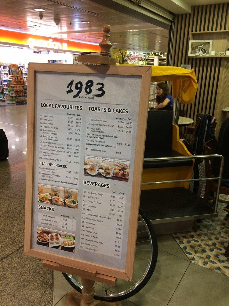 Cafe Nanyang Menu