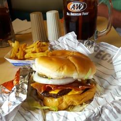 Photo Of A W Restaurant Farmington Mo United States Original Double Bacon Cheeseburger