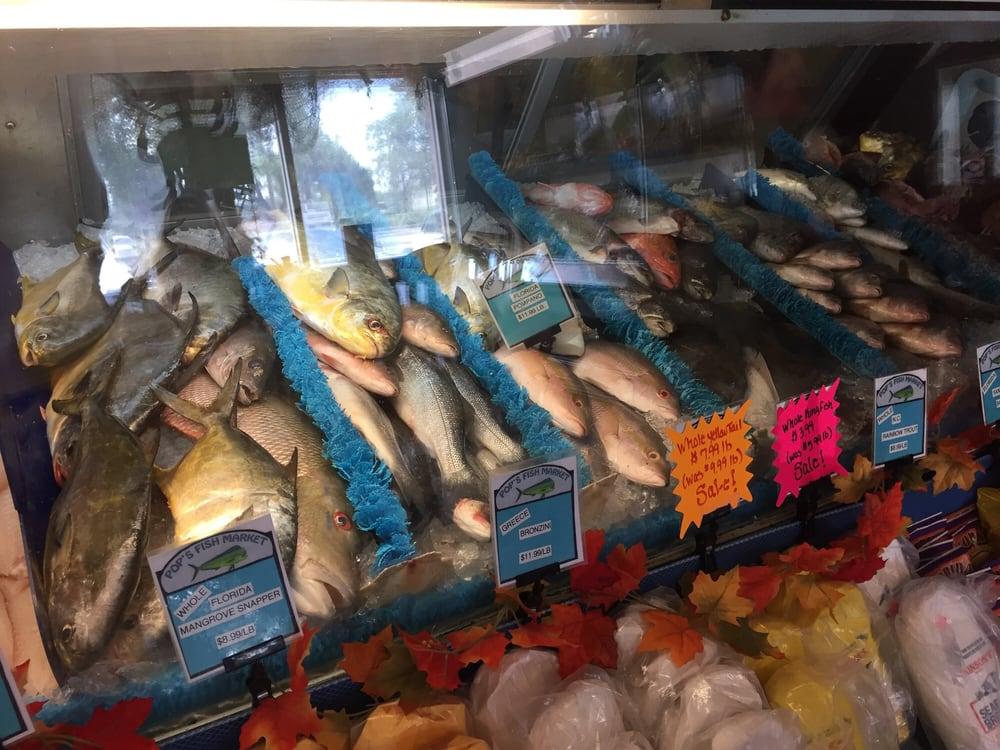 Fresh fish yelp for Pops fish market