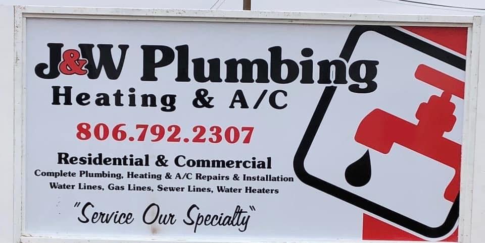 J & W Plumbing Heating & A/C: 1012 17th St, Lubbock, TX