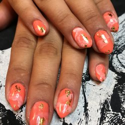 Acronychous modern nail designs 67 photos nail technicians photo of acronychous modern nail designs denver co united states orange creamsickle prinsesfo Choice Image
