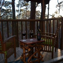 Photo Of The Woods Cabins   Eureka Springs, AR, United States. Aspen Porch