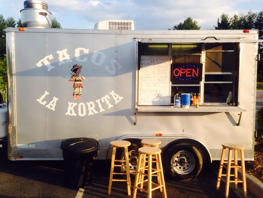 Tacos La Korita: 374 New Leicester Hwy, Candler, NC
