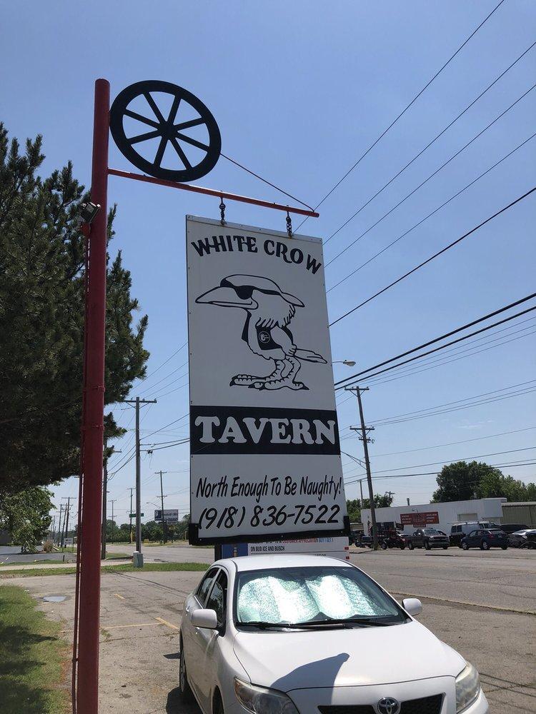 White Crow Tavern: 424 S Memorial, Tulsa, OK