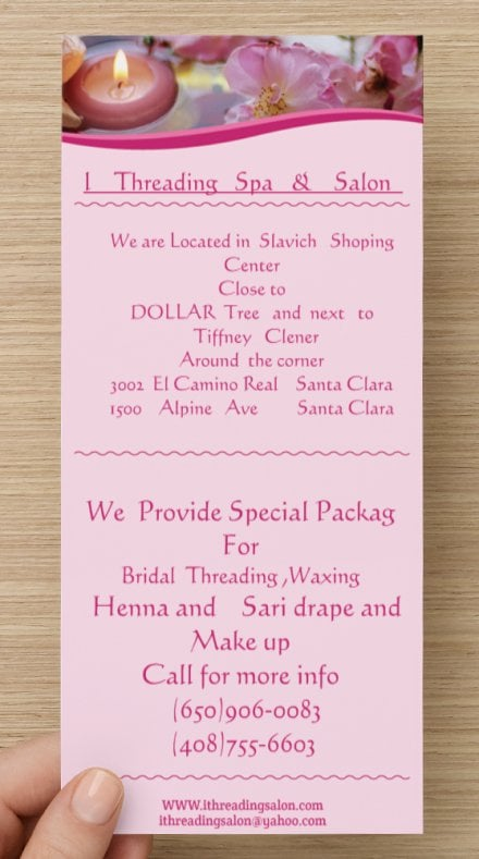 Pink rose beauty salon 10 photos threading services for Academy salon santa clara