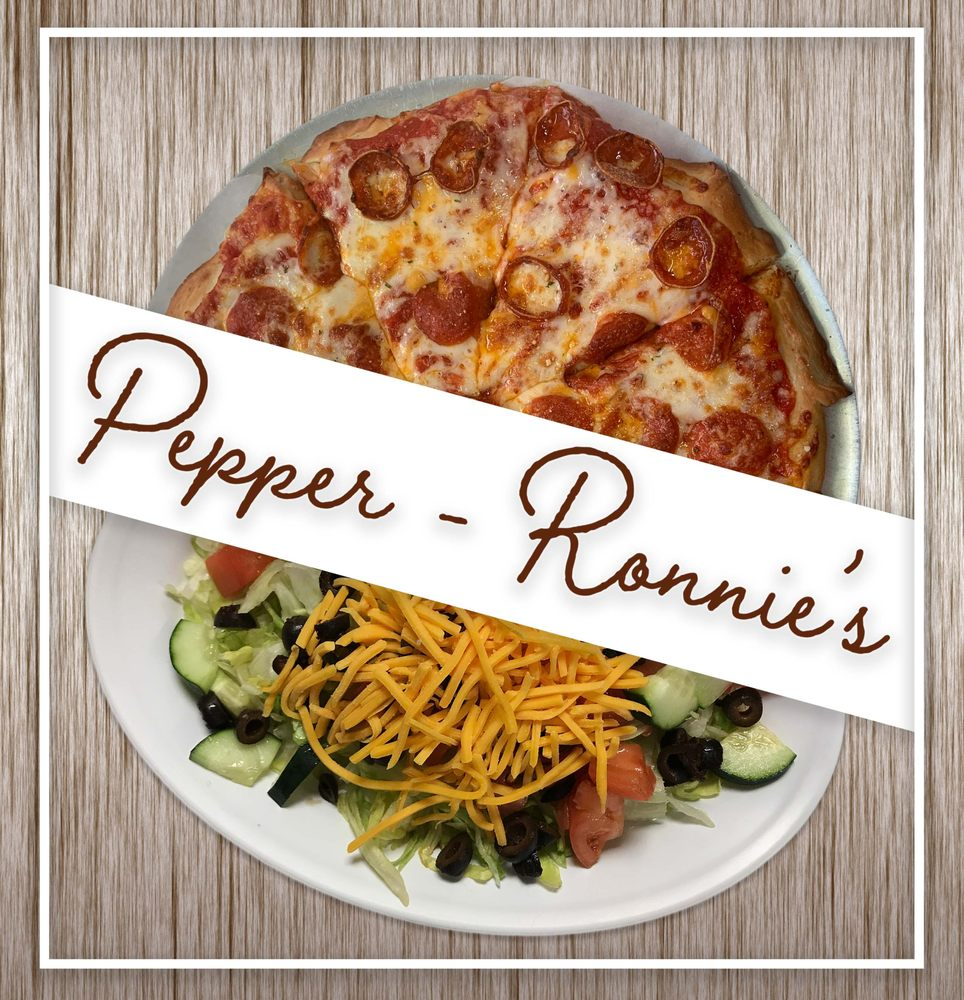 Food from Pepper-Ronnie's