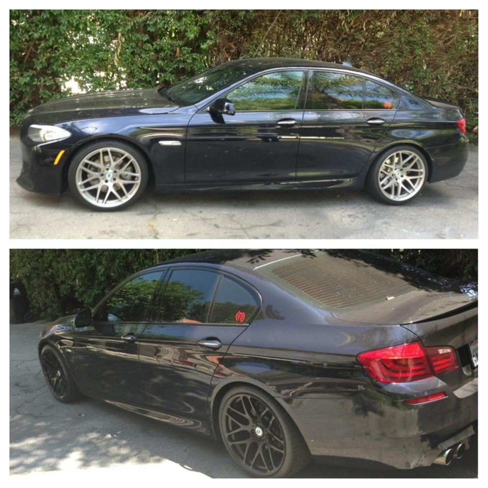2012 BMW 535i, Rims Package