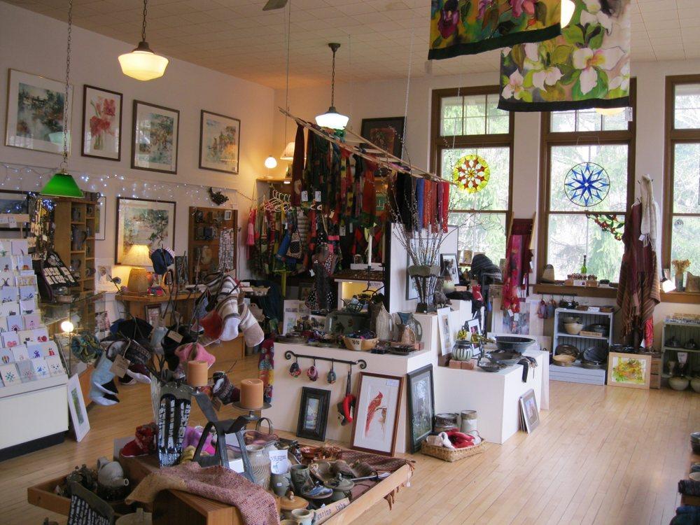 Brickyard Pottery & Gallery: W9008 Brick Yard Rd, Shell Lake, WI