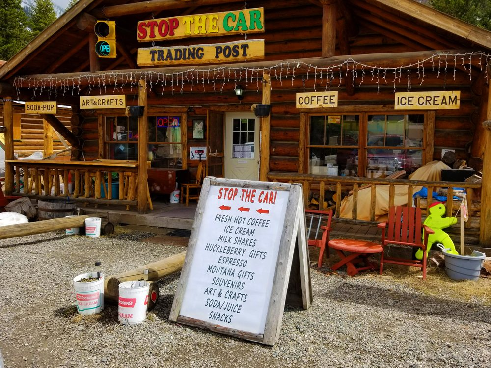 Stop The Car Trading Post: 108 US 212 W, Silver Gate, MT