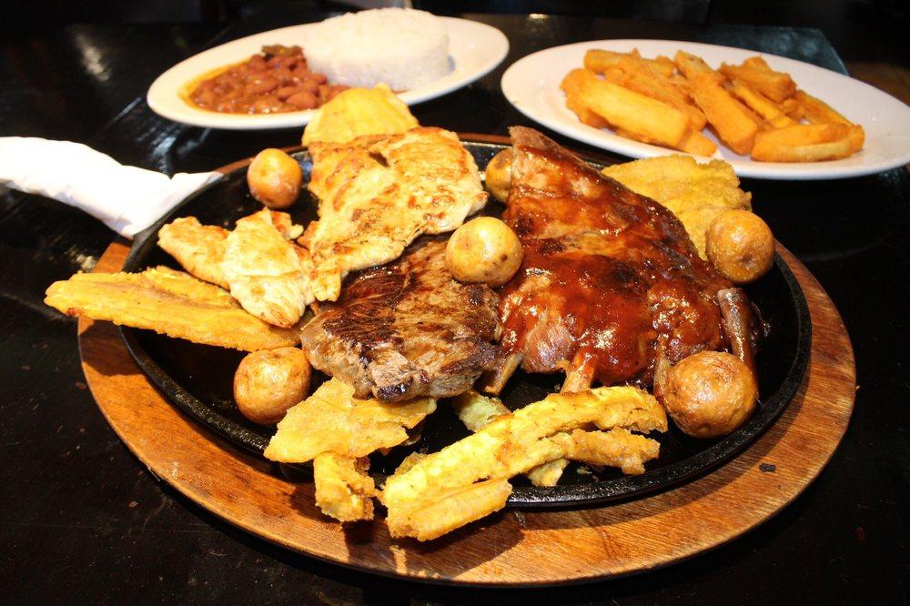 Food from Las Juanas Restaurante