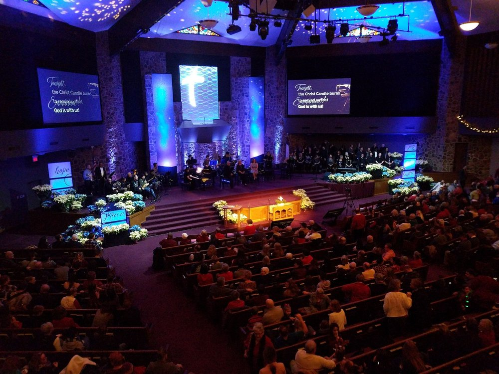 Chapel Rock Christian Church: 2020 N Girls School Rd, Indianapolis, IN