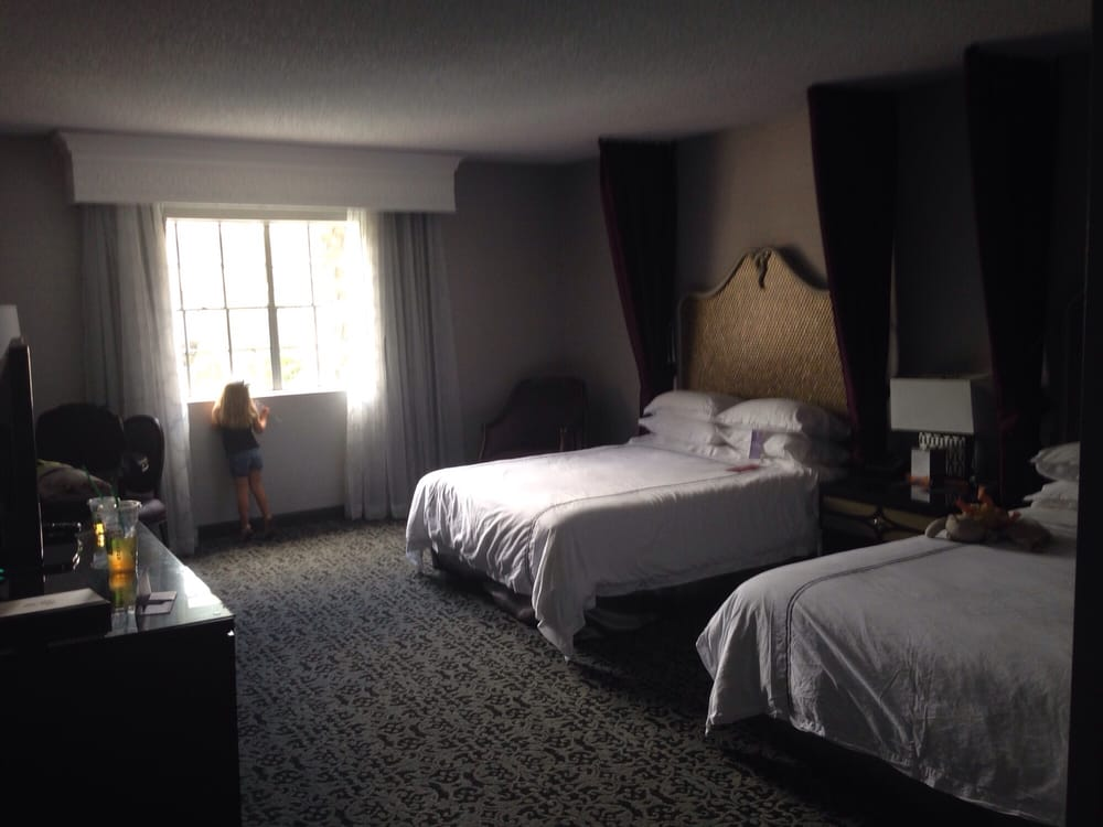 The Room Was Very Big And Updated Beds Were Comfortable And The Bathroom Was Nice As Well Yelp