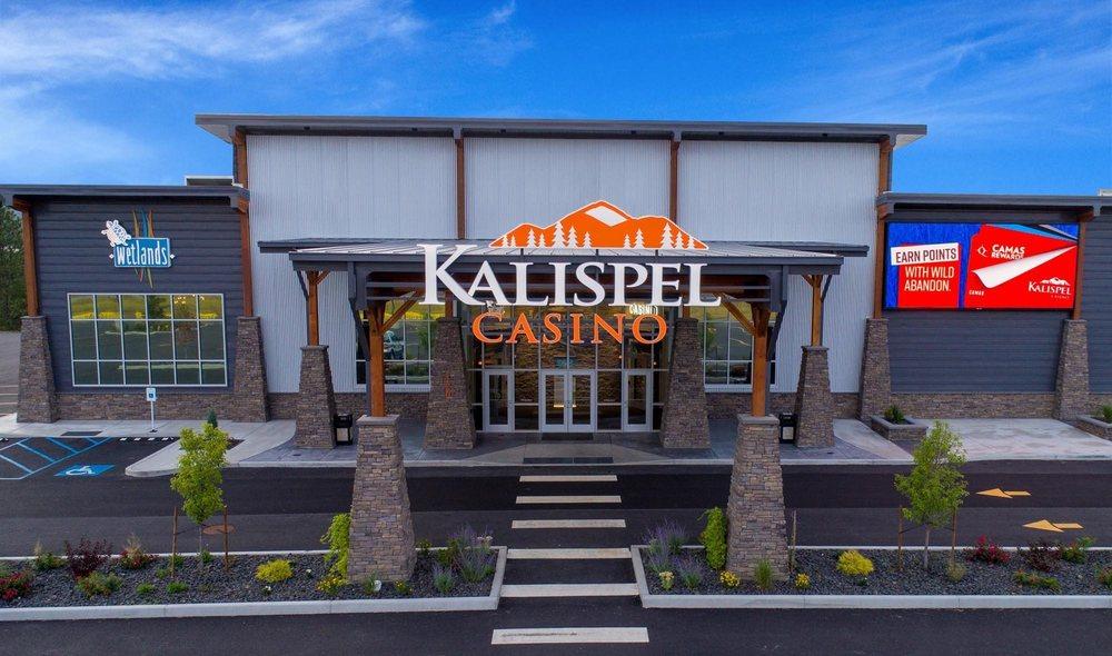 Kalispel Casino: 420 Qlispe River Way, Cusick, WA