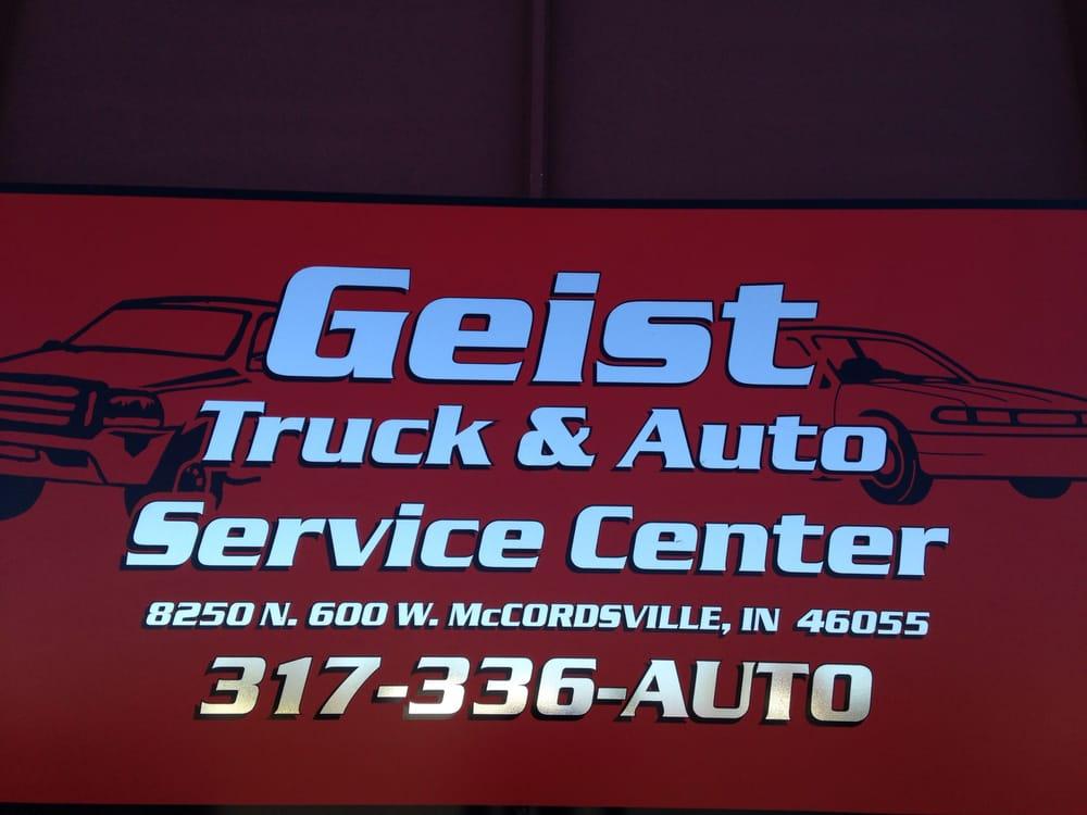 Geist Truck and Auto Service Center: 8250 N 600th W, McCordsville, IN