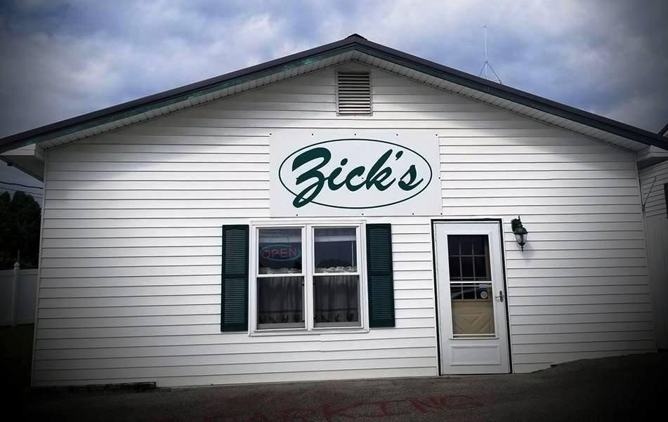 Zick's Restaurant: 207 Zick's Rd, Buckhannon, WV