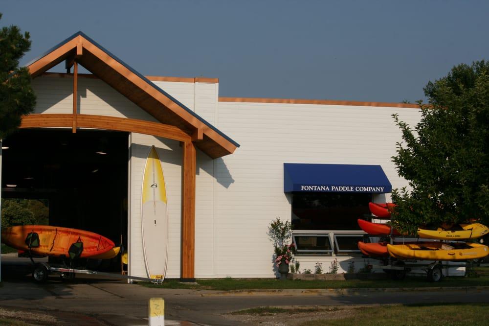 Fontana Paddle Company: 454 Lake St, Fontana, WI